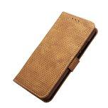 Plånboksfodral i Retrodesign från LEMAN till Huawei P20 Pro