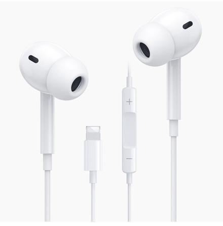 Kraftfull Bluetooth Lightning iPhone Hörlurar HÖGKVALITET