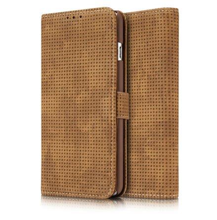 Plånboksfodral i Retrodesign från LEMAN till iPhone 6/6S Plus