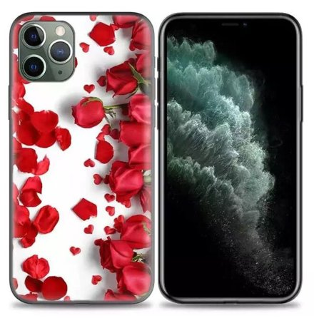 iPhone 12 Pro -Stöttåligt Elegant ROSE Skal
