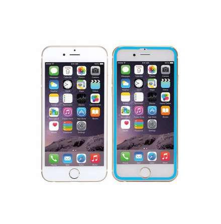 HuTech Originalskydd 3D (Aluminium) iPhone 6/6S