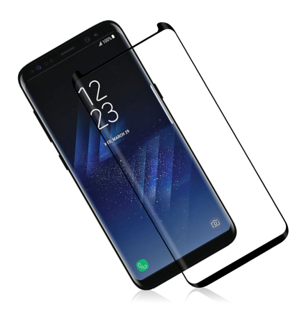Samsung Galaxy S8 HuTech Skärmskydd CASE-Friendly (Full-Glue)