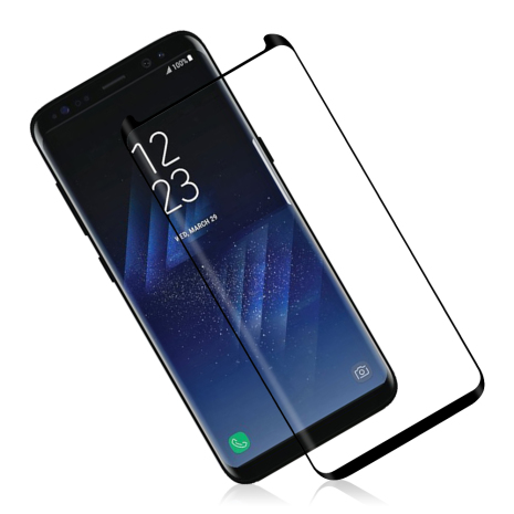 Samsung Galaxy S8+ HuTech Skärmskydd CASE-Friendly (Full-Glue)