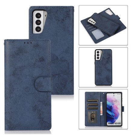 Samsung Galaxy S21 Plus - Professionellt LEMAN Plånboksfodral
