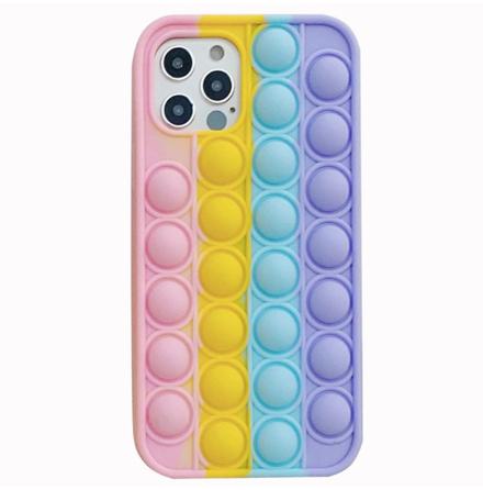 iPhone 12 Pro - Anti-Stress Fidget Pop It Silikonskal