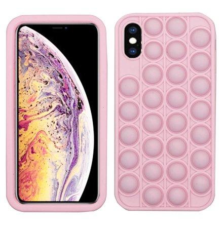 iPhone X/XS - Elegant Skyddande Fidget Pop It Silikonskal