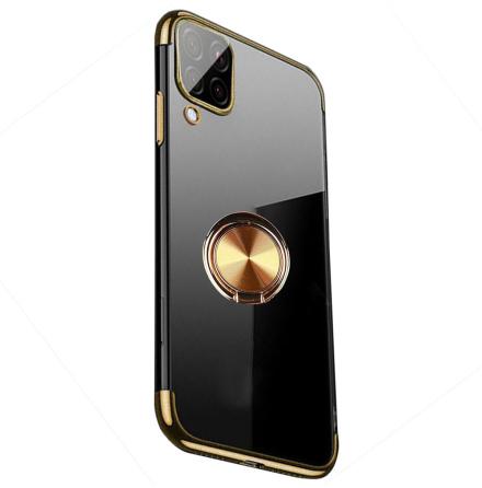 Samsung Galaxy A12 - Exklusivt FLOVEME Skal med Ringhållare