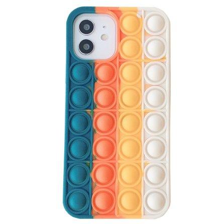 iPhone 12 - Skyddande Fidget Pop It Silikonskal