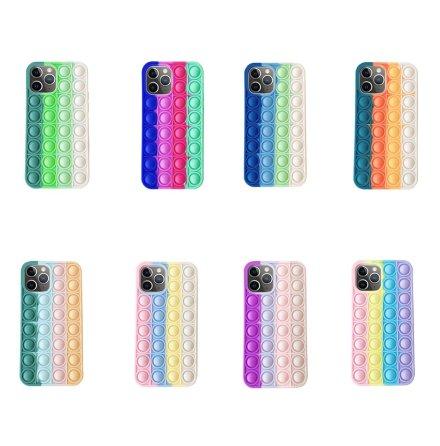 iPhone 12 Pro - Effektfullt Fidget Pop It Silikonskal