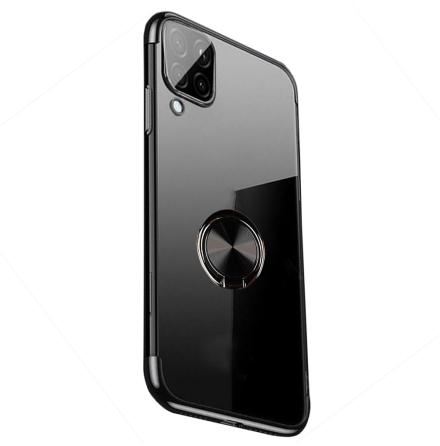 Samsung Galaxy A42 - Stilrent Smidigt Skal med Ringhållare