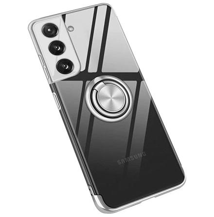 Samsung Galaxy S21 Plus - Exklusivt FLOVEME Skal med Ringhållare