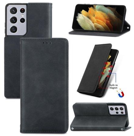 Samsung Galaxy S21 Ultra - Stilsäkert Praktiskt Plånboksfodral