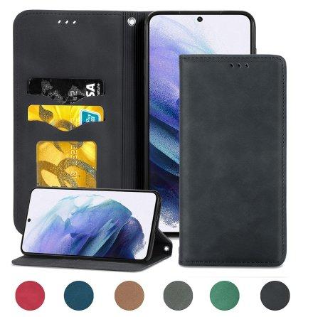 Samsung Galaxy S21 - Exklusivt Praktiskt FLOVEME Plånboksfodral