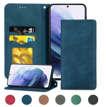 Samsung Galaxy S21 Plus - Stilsäkert Smidigt Plånboksfodral