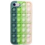 iPhone 8 - Mjukt Fidget Skal Pop It Simple Dimple