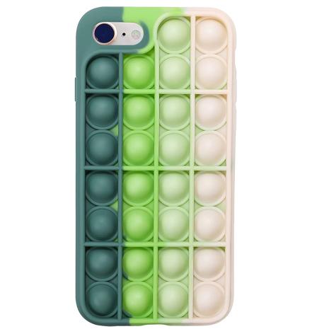 iPhone SE 2020 - Stödämpande Fidget Skal Pop It Simple Dimple