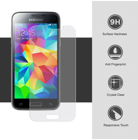 Samsung Galaxy S5 Mini - Skärmskydd/Pansarglas