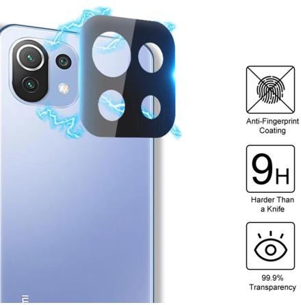 Xiaomi Mi 11 Lite 2.5D HD Kameralinsskydd