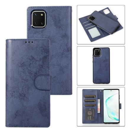 Samsung Galaxy A22 5G - Robust Effektfullt LEMAN Plånboksfodral