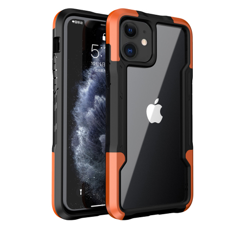 iPhone 12 - Stilsäkert Stötdämpande Skal