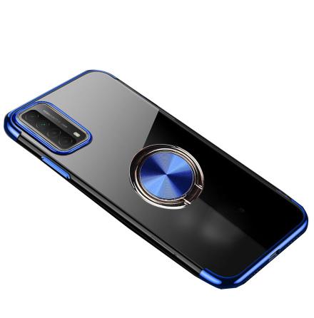 Huawei P Smart 2021 - Stilsäkert Praktiskt Skal med Ringhållare