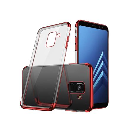 Samsung Galaxy A8 2018 - Elegant Silikonskal Från FLOVEME