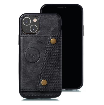 iPhone 13 Mini - Genomtänkt Smidigt Skal med Korthållare