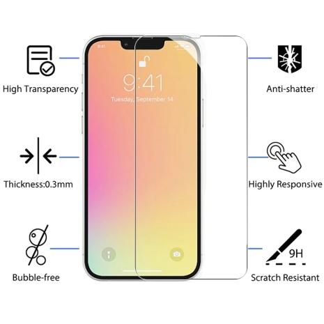 iPhone 13 Pro Skärmskydd Standard HD 0,3mm
