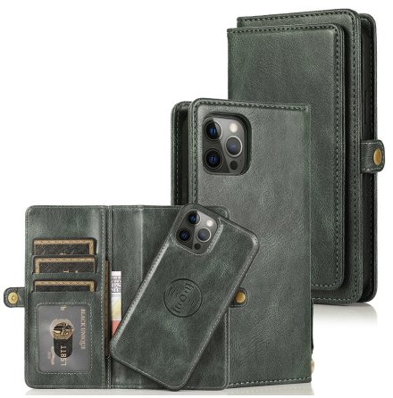 iPhone 13 Pro - Stilsäkert Praktiskt Plånboksfodral