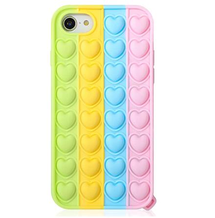 iPhone 8 - Skyddande Stressavlastande Fidget Pop It Skal