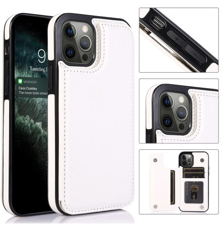 iPhone 13 Pro - Stilsäkert NKOBEE Skal med Korthållare