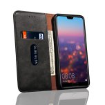 LEMAN Stilrent Plånboksfodral för Huawei P20