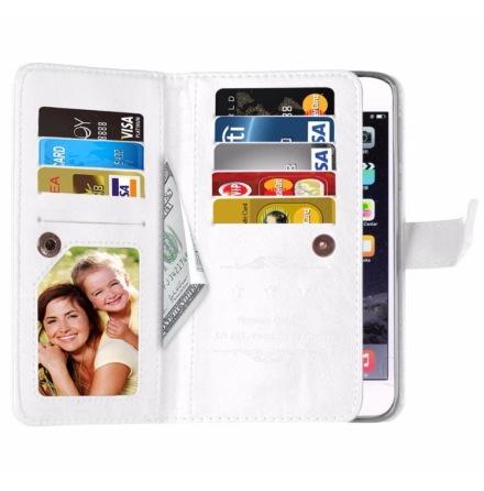 Elegant Praktiskt 9-korts Plånboksfodral iPhone 8 PLUS FLOVEME