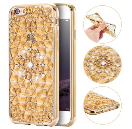 """iPhone 6/6S - Exklusivt Stilrent Skal """"Diamond-serie"""""""