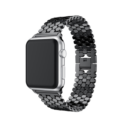 Stilren Länk i Rostfritt Stål för Apple Watch 42mm (3/2/1)