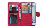 iPhone 5/5S/5SE - ROYBEN Stilsäkra Plånboksfodral (PU-Läder)