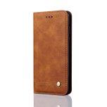 LEMAN Stilrent Plånboksfodral för Samsung Galaxy A6