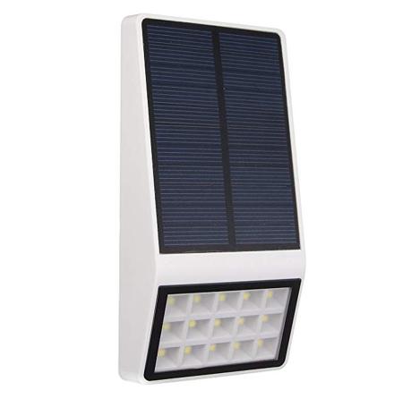Soldriven Utelampa med automatisk sensor (LED)