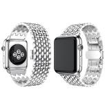 Stilren Länk i Rostfritt Stål till Apple Watch 42mm (3/2/1)