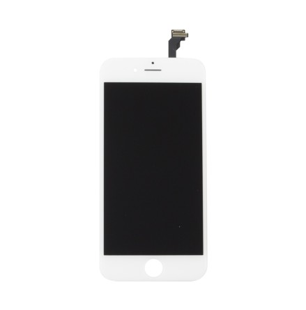 iPhone 6S Plus - Skärm LCD Display Komplett med smådelar (VIT)