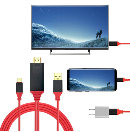 HD Video/Audio Adapter Type C (USB-C) till HDMI (HDTV)