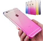iPhone 6/6S PLUS - Stilrent OMBRE silikonskal med extra tjock kant