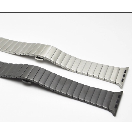 Apple Watch 38mm - Stilren stållänk i rostfritt stål (Flera färger)