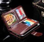 Galaxy S7 - Praktiskt 9-korts Plånboksfodral från FLOVEME