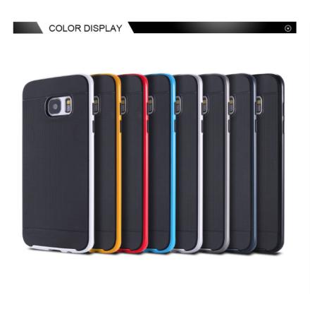 NANO-HYBRID-Stötdämpande skal för Samsung Galaxy S7 Edge