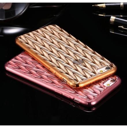 Stilrent Luxury Silikonskal för iPhone 6/6S CRYSTAL