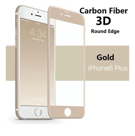 iPhone 6/6S Plus Carbon-Skärmskydd från ProGuard 3D/HD