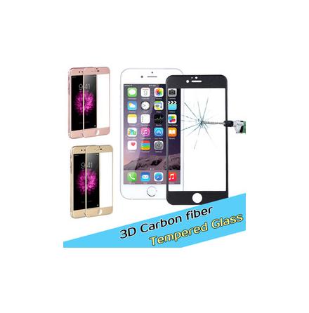 iPhone 6/6S Skärmskydd av Carbonfiber (Nyhet) HuTech Fullfit 3D