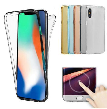 Crystal-Fodral med Touchsensorer (Dubbelsidigt) iPhone XS Max