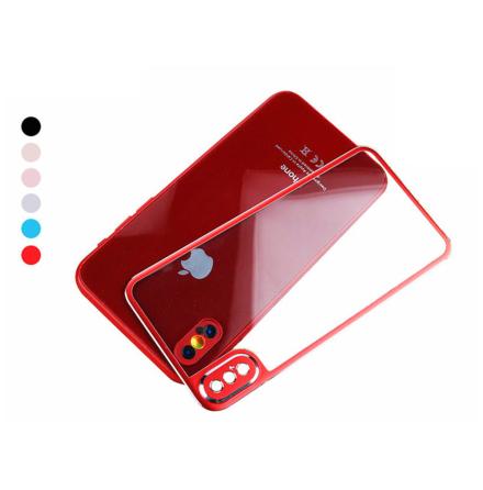HuTech Skydd för Baksidan (Aluminium) till iPhone X/XS